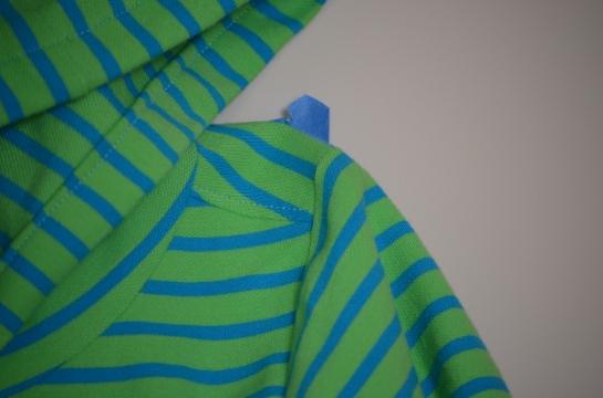 Shoulder Detail Jack Frost Hoodie
