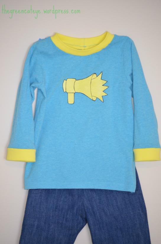 thegreencateye.com Megaphone Shirt