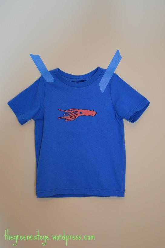thegreencateye.com squid shirt
