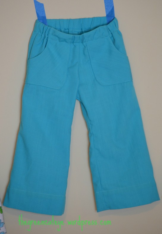 thegreencateye.com Turquoise Pants