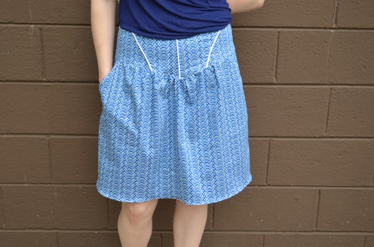 Blue Turtle Skirt
